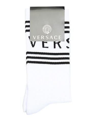 Versace Çorap Beyaz